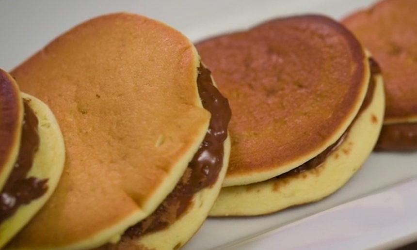 Pancakes en Macarons